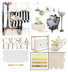 """SKEW"" by ironono ❤ liked on Polyvore featuring interior, interiors, interior design, home, home decor, interior decorating, Kelly Wearstler, Fornasetti, Ralph Lauren and Worlds Away"