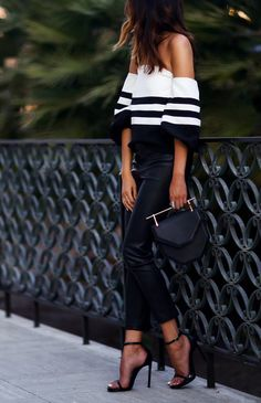 Looking for black and white outfits to change things up? Find a full photo gallery of black and white outfit combinations. Maximize your style today.