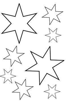 Stern Vorlage Ausschneiden | basteln | Pinterest | Einrichten ...