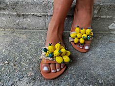 Bead sandals embellished sandals summer shoes beach sandals vacation sandals greek sandals mellow pineapple sandals Made to order Boho Sandals, Beaded Sandals, Embellished Sandals, Greek Sandals, Shoes Sandals, Slippers For Plantar Fasciitis, Espadrilles, Pumps, Womens Slippers