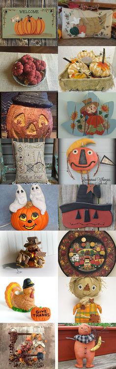 Pumpkins HH2016 by Becky McKinzie on Etsy--Pinned+with+TreasuryPin.com