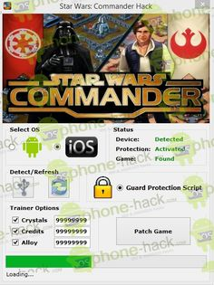 Star Wars Commander Hack Android /iOS http://hackgames4all.com/star-wars-commander-hack-android-ios/