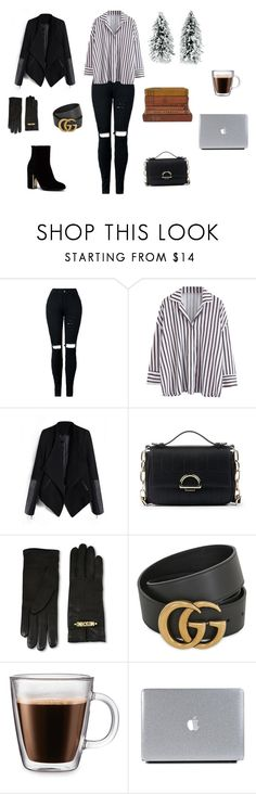 """""""Untitled #291"""" by natalyholly on Polyvore featuring Sole Society, Moschino, Gucci, Frontgate and Vintage Collection"""