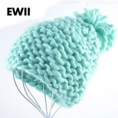 2015 Woman winter hats Beanie girl harajuku caps Coarse lines hand-crocheted acrylic fiber wool hat ladies knit hats Beanies