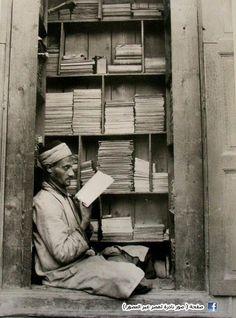 Bookseller in Egypt in 1935