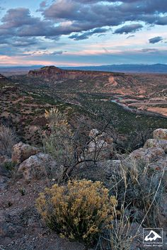 White Rock Canyon by isaac.borrego, via Flickr; White Rock, New Mexico