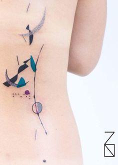 Colour Tattoo For Women, Geniale Tattoos, Botanical Tattoo, Cool Tattoos, Tatoos, Tattoo Inspiration, Tattoos For Women, Watercolor Tattoo, Body Art
