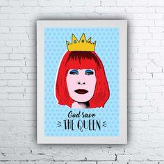 Quadro Rita Lee, Rita Lee poster