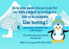 winter party invite template