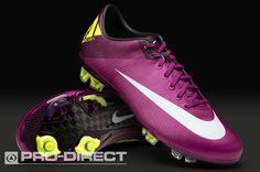 big sale 702c3 e8ce9 Nike - Mens Vapor Superfly III FG Boots - Plum Windchill Volt.  prodirectsoccer.com. Chaussures De Football ...