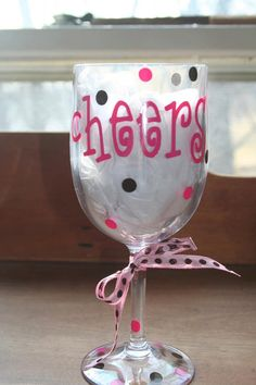 Personalized Acrylic Cups. $8.00, via Etsy.
