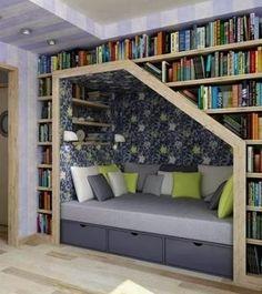 The Grey Home : 20 Inspiring reading nooks design ideas