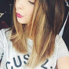 Zoe Sugg 2015 short ombré hair