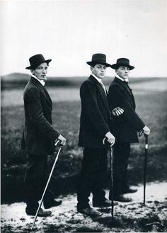 Jungbauern, Westerwald, 1914 by August Sander.  Absolutely love this picture. Definatley a very large canvas in my house.
