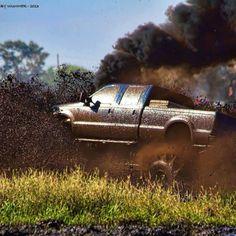 Rollin' coal in the mud hole