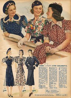 1930s vintage fabric patterns