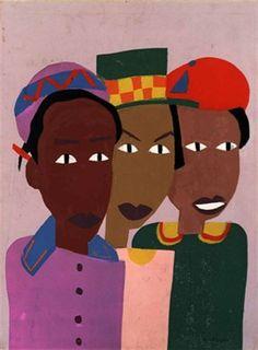 Chemical Peels for Darker Skin Tones William H Johnson, Henry Johnson, African American Artist, American Artists, African Art, Harlem Renaissance Artists, Art Africain, Philadelphia Museum Of Art, Black Artists