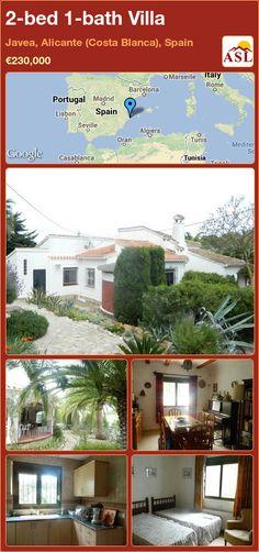 2-bed 1-bath Villa in Javea, Alicante (Costa Blanca), Spain ►€230,000 #PropertyForSaleInSpain