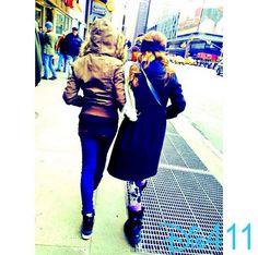 Photo: Rowan Blanchard And Sabrina Carpenter In New York January 1, 2014