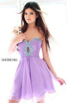 Purple -Sherri hill