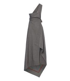 Vivienne Westwood Apron Skirt Grey #AW16