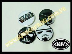 Chapas Star Wars (Buttons Star Wars)  www.kioscofriki.com.ve