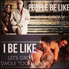 Gym humor- Let grow swole together! - Gym humor- Let grow swole together! Fitness Motivation Pictures, Fitness Quotes, Fitness Goals, Gym Motivation, Health Fitness, Fitness App, Fitness Humor, Workout Fitness, Fitness Life