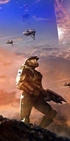 Halo Game, Halo 3, Video Game Art, Video Games, Mode Cyberpunk, Halo Videos, Halo Spartan, Halo Armor, Halo Master Chief