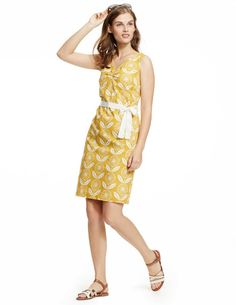 Boho Printed Dress WH750 Day Dresses at Boden