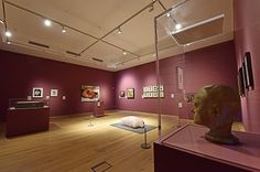 Flesh exhibition at York Art Gallery. Photo by Anthony Chappel-Ross. York Art Gallery, Ceramic Art, Track Lighting, Ceiling Lights, Discovery, Summer, Summer Time, Summer Recipes, Ceiling Lamps
