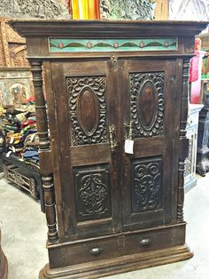 Antique Indian Teak Window Terrace India Furniture By MOGULGALLERY