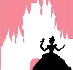 Cinderella by eMJayDigitalArt on etsy Disney Girls, Disney Art, Disney Pixar, Disney Images, Disney Pictures, Stencil Diy, Stencils, Autograph Book Disney, Disney Princesses And Princes