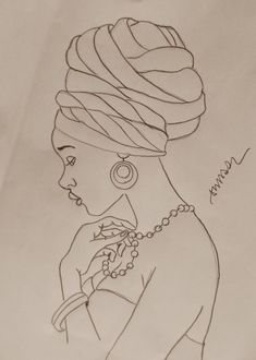 African woman pattern for tin glazed pottery project Black Art, Black Women Art, African American Art, African Women, African Quilts, Afrique Art, African Art Paintings, Colouring Pages, Fabric Painting