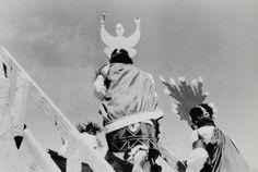 """Bernard Plossu    """"Santa Clara pueblo, Nouveau Mexique, 1978""""    Tirage argentique  24cm x 30cm"""