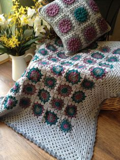 Crochet granny square blanket | Flickr - Photo Sharing!