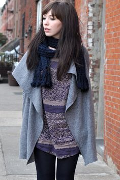 Keiko Lynn. I love that coat.