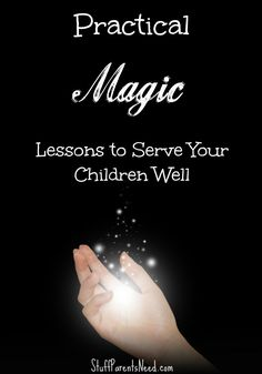 Learning to fly, super strength and instant time travel are just a few of the magic tricks you can teach your children! #ad