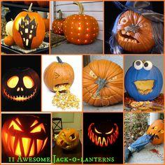 Jack-o-Lantern Inspiration!