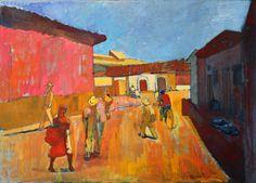 Pochutla Street by Alexey Krasnovsky