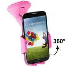 Supporto Auto Smartphone - Venntosa Rosa  € 9,99