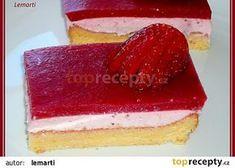 Jahodová mlska recept - TopRecepty.cz Vanilla Cake, Cheesecake, Vanilla Sponge Cake, Cheesecakes, Cheesecake Pie
