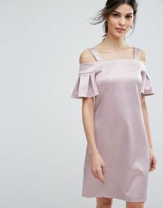 Pink Mini Dresses, Simple Dresses, Pretty Dresses, Short Dresses, Jw Moda, Mode Mantel, Day To Night Dresses, Sleeves Designs For Dresses, Kurti Designs Party Wear
