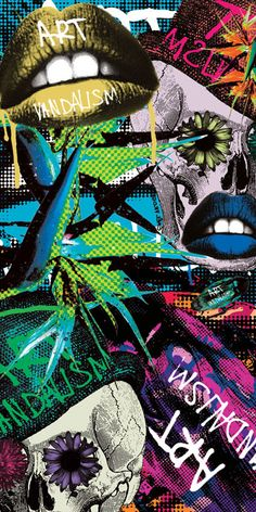 skull, flower, cockrach, insect, pop art, street art, colorful, art, art.vandalism