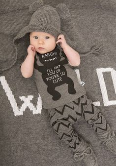 Hipster Baby 2 piece set