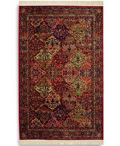 "Karastan Area Rug, Original Karastan 717 Multi Panel Kirman 8' 8"" x 10' 6\"""