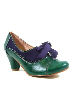 Look what I found on #zulily! Green Madison Pump #zulilyfinds They remind me of the Wizard of Oz for some reason!