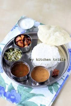 Tamil Nadu meals