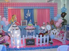 Alice no país das maravilhas - Muita Festa Decorações