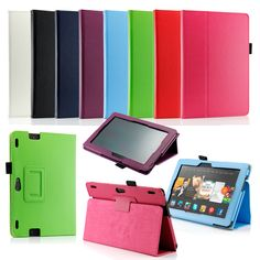 """Gearonic PU Leather Folio Smart Cover for 2013 Kindle Fire HDX 8.9"""" - Overstock™ Shopping - The Best Prices on Gearonic E-Reader Accessories"""