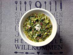 Schnelle Kloster-Vichyssoise, Lauch, Speck, Rezept, Suppe, Eintopf, Food, Blog…
